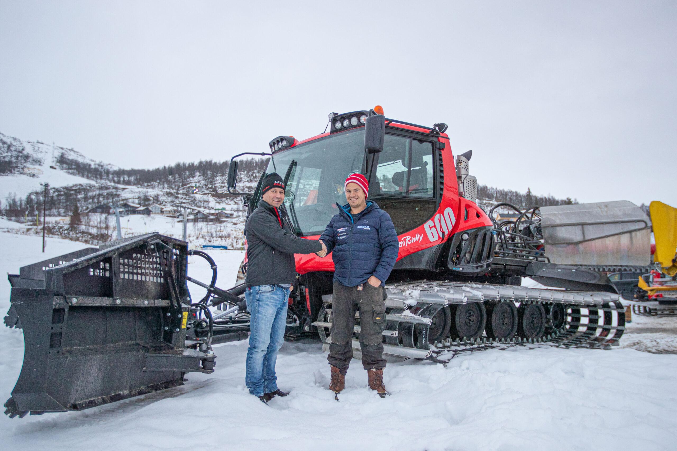 Alpinmaskiner: Sogndal Skisenter
